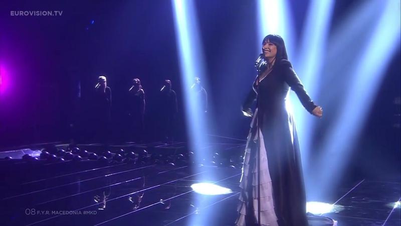 Kaliopi - Dona (F.Y.R. Macedonia) Македония - Калиопи Евровидение 2-й полуфинал Live Semi-Final 2 - 2016 Eurovision Song Contest