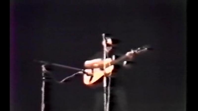 Виктор Цой. Концерт в ДК Железнодорожников. Ленинград, 25 (29).04.1988