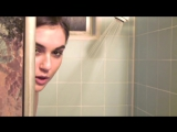 #sashagrey Sasha Grey Taking Shower when Interview