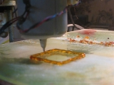 Калибровка - Первая печать сахарного экструдера