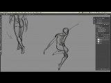 How To Draw Human Anatomy by Aaron Blaise. Gesture Drawing