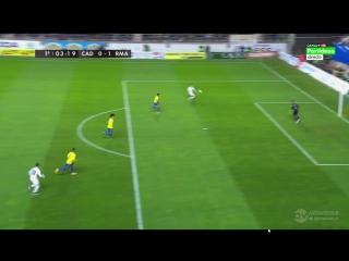 Кадис - Реал Мадрид, 0-1, гол Черышева, голевая Хамеса