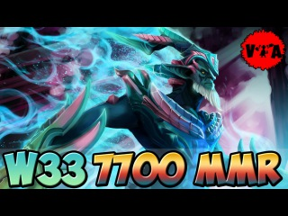Dota 2 - W33 7700 MMR Plays Leshrac vol #2 - Ranked Match
