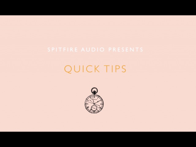 Quick Tips - Make Your Strings Sparkle