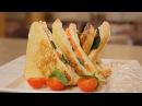 Панини с семгой и сыром Рецепт от шеф повара