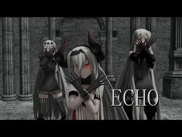 【MMD艦これ】ECHO【深海棲艦】