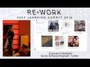 Clement Farabet, Senior Software Engineer, Twitter - RE•WORK Deep Learning Summit 2016 reworkDL