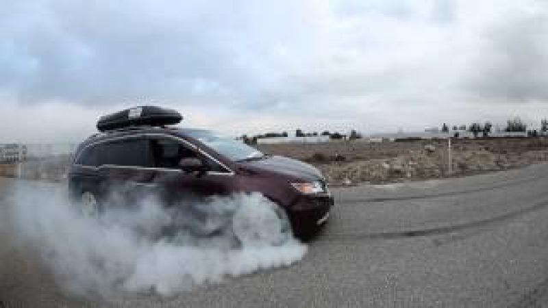1029hp Odyssey Minivan Burnout