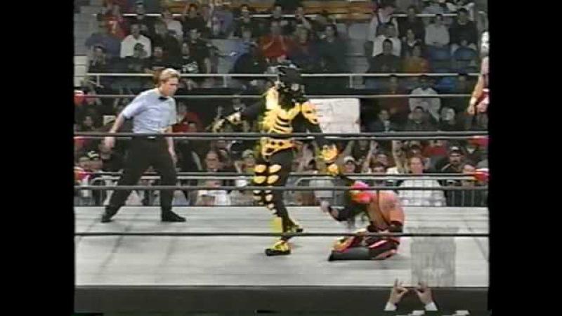 La Parka Psycosis vs. Rey Mysterio Jr. Juventud Guerrera (WCW Monday Nitro 1997)