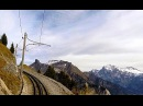 Driver's Eye View Schynige Platte Railway Switzerland
