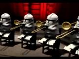 Звёздные войны Эпизод 4 – Новая надежда/Star Wars (1977) Шуточный «Гимн империи». Исполняет оркестр «Штурмовиков»