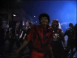 Майкл Джексон – Триллер (Thriller)(Джон Лэндис,1983)