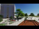 Концептуальный проект городского ландшафта