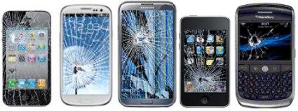 Что делать при повреждении экрана смартфона? фото