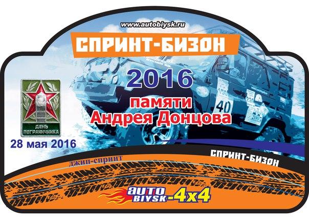 """Джип-спринт """"БИЗОН 2016"""""""