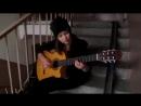 Класно_играет_на_гитаре_испанская