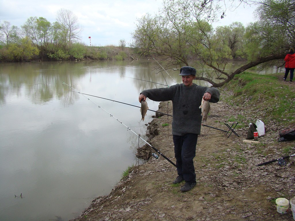 рыбалка на озерах и краснодарском
