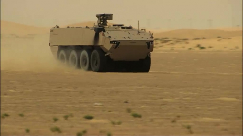 Датская армия заказала 309 новых MOWAG Piranha V. Выдача начнется с 2018 года.