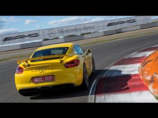 Тест-драйв Porsche Cayman GT4 — Михаил Петровский о быстрейшем Каймане
