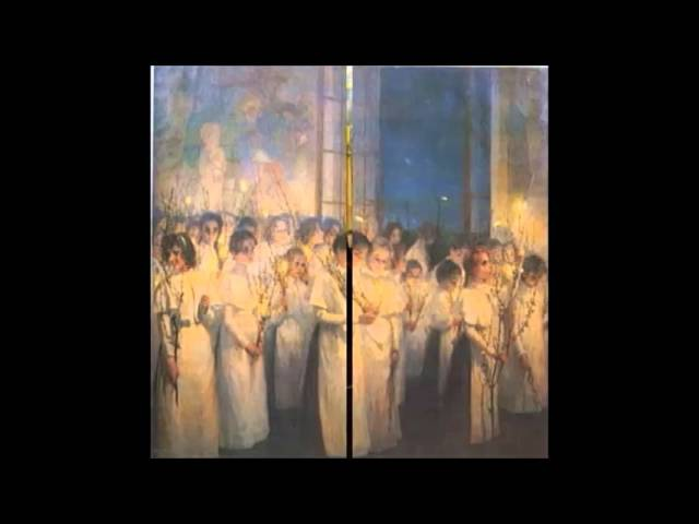 Великий пост (для детей) Вербное воскресение Беседа 3
