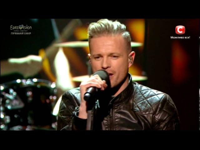 Nicky Byrne - Sunlight (Ireland) Eurovision 2016 LIVE Ukraine