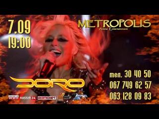 | DORO в Черноморске @ Metropolis