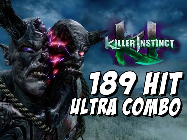 EYEDOL- 189 Hit Triple Ultra Combo (Killer Instinct Season 3)