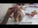 Гимнастика и массаж для малышей 3-4 месяцев // Gymnastics and massage for babies 3-4 months