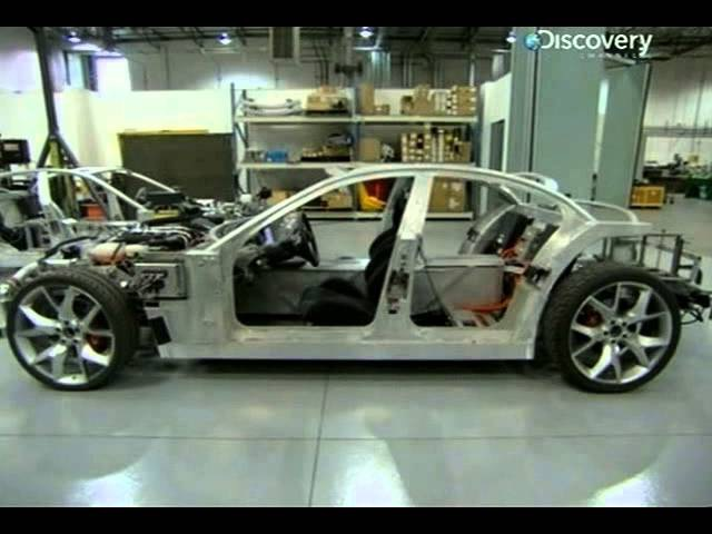 Как это сделано. Электроспорткар Fisker Karma (How Do They Do It? Discovery channel)