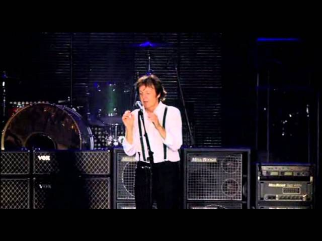 Paul McCartney I Saw Her Standing There/Yesterday/Helter Skelter Live-2009