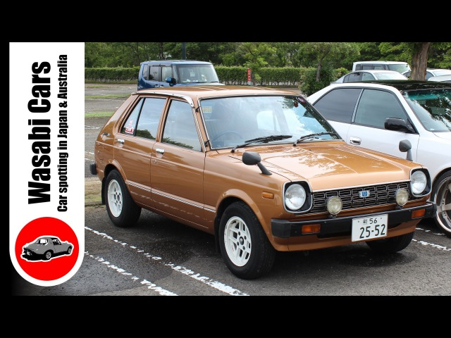 Bronze Beauty 1978 Toyota Starlet DX 5 Door KP61