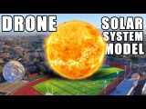 DRONE Solar System Model- How far is Planet 9