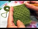 Как связать прихватку. Прихватка крючком. Вязание крючком. (potholder crochet yarn from residues)