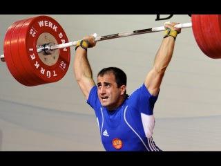 Weightlifting World vice-Champion 2010 Armen Kazaryan Ghazaryan