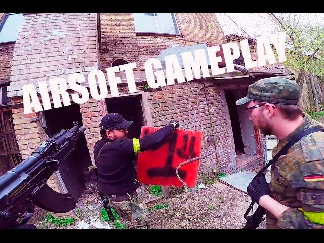G&G - rk 104 evo blowback [RED BOX] airsoft gameplay страйкбол Airsoft War