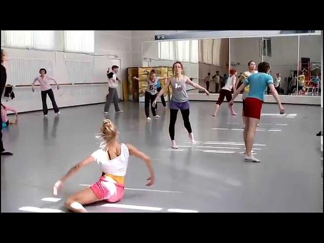Балет Евгения Панфилова. Репетиция балета Тревожное небо (хореограф Константин Кейхель)