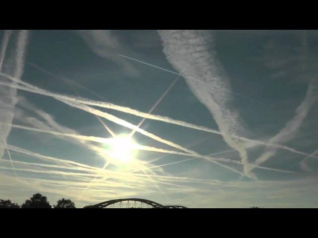 Химтрейлы в Голландии Chemtrails - HOLLAND UNDER ATTACK - Chemie is EVERYWHERE!.mp4