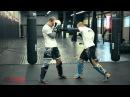 Тайский бокс с чемпионом мира пробиваем печень противника Обучающее видео от 4MMA