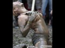 Hot Naked girls fighting in mud!!!