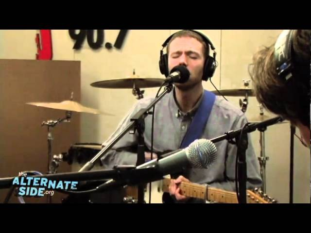 The Radio Dept. - Heaven's On Fire (Live at WFUV)