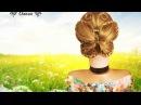 Прическа на средние волосы для девочки .Прическа бабочка из волос. Hairstyle butterfly