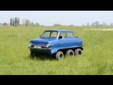 Тюнингованный ЗАЗ-968