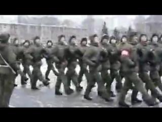 парад на присяге 26 декабря 2015 В/ч 74400 г.Переславль Залесский