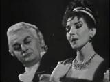 МАРИЯ КАЛЛАС, ТИТО ГОББИ (фрагмент 2-го акта из оперы Дж. Пучини TOSCA, Париж, опера Гарнье, 1958)