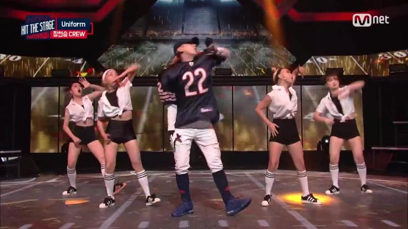 24.08.16 ХёнСын - Hit The Stage, эп. 5 (отрывок)