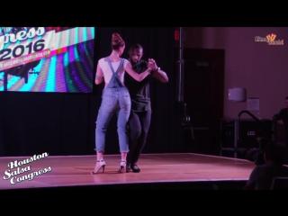 Kizomba Tony Pirata Sophie Fox _ Houston Salsa Congress 2016