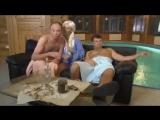 Что делает девушка в мужской бане