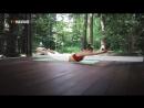 Тонкая талия за 15 минут — Йога для начинающих и продвинутых