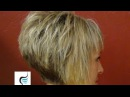 How To Do A Short Stacked Haircut with Straight Bangs Girl Hairstyles