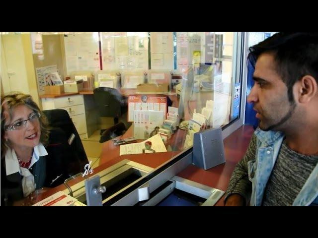 Dialogue FLE VOST à la gare acheter un billet de train